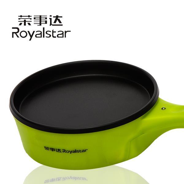 荣事达JDQ-03A 多功能煎烤机 迷你煎蛋器 不粘锅 煎烙饼 煎牛排