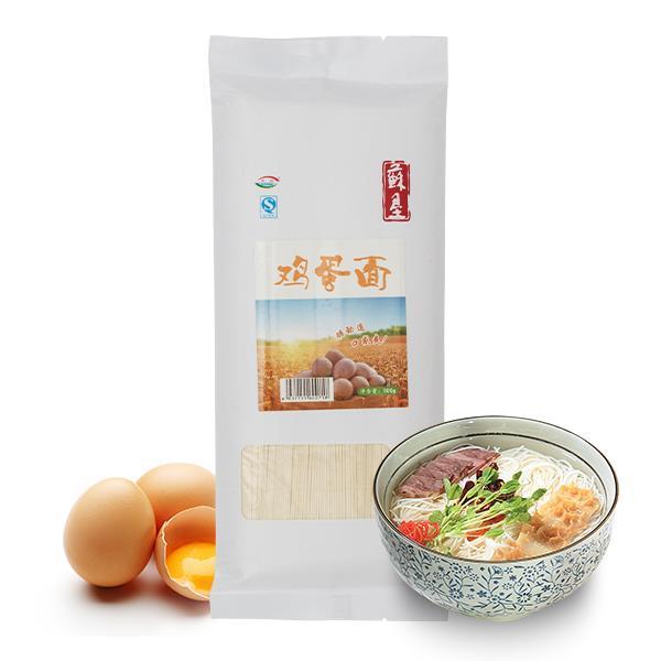 苏垦鸡蛋面 面条挂面500g/袋 全程可追溯