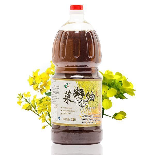 苏垦菜籽油 2.5L装 几近0胆固醇 易吸收