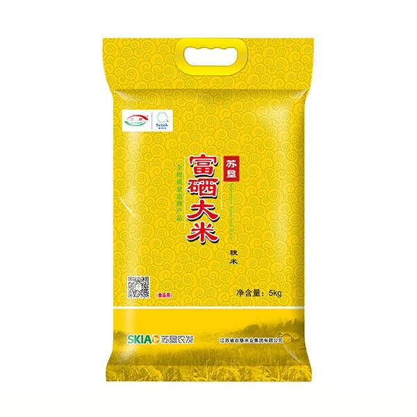 苏垦富硒米 金色5kg袋装  健康全程质量可追溯