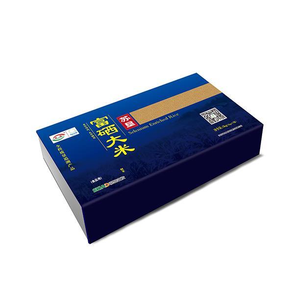 苏垦富硒米蓝色5KG礼盒装 全程可追溯