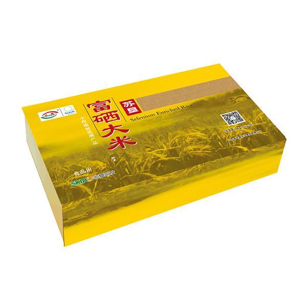 苏垦富硒米 金色5kg礼盒装 全程质量可追溯