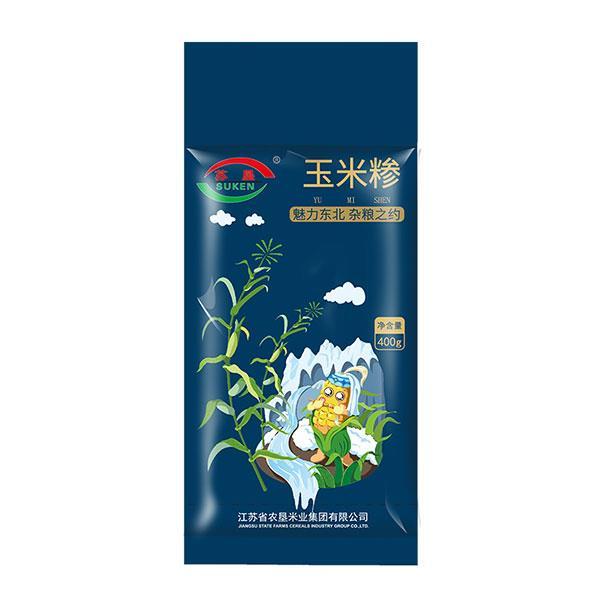 苏垦五谷杂粮之玉米糁400g 营养健康 真空包装