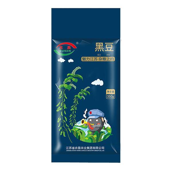苏垦五谷杂粮之黑豆350g 营养健康