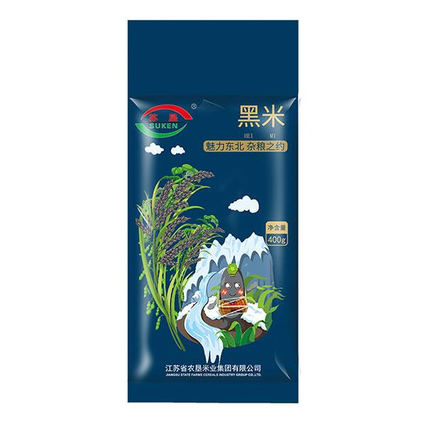 苏垦五谷杂粮之黑米400g 营养健康 真空包装