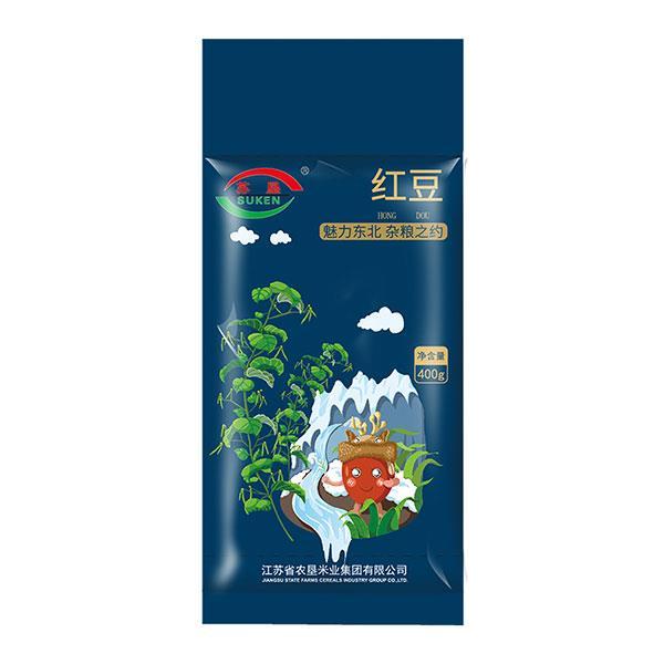 苏垦五谷杂粮之红豆400g 营养健康 真空包装
